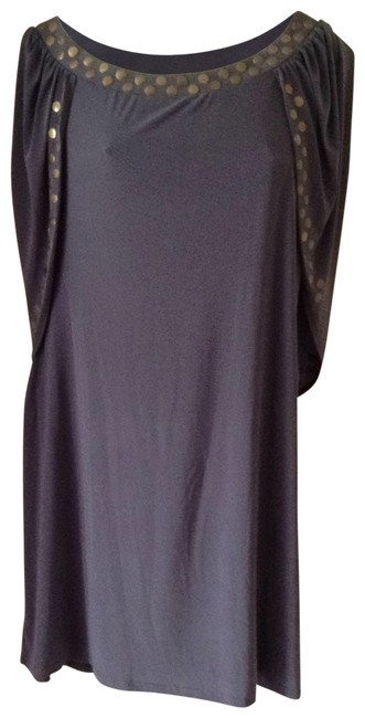 Preload https://item2.tradesy.com/images/macy-s-grey-night-out-dress-size-12-l-196106-0-0.jpg?width=400&height=650