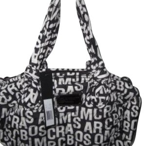 Marc by Marc Jacobs Satchel in Black/white
