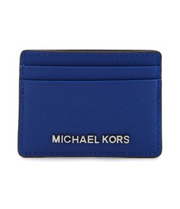 Michael Kors New With Tags Michael Kors Electric Blue Jet Set card holder