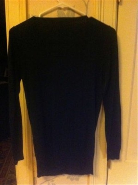 Forever 21 Argyle Navy/White/Grey Small Light Weight Sweater