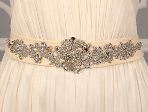Monique Lhuillier Monique Lhuillier Prima Embellished Bridal Sash
