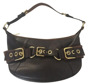 Dolce&Gabbana Leather Buckle Shoulder Bag