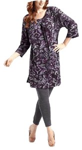 Melissa Masse short dress MULTI COLOR Knit Sweater Plus Size on Tradesy