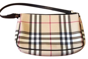 Burberry Nova Check Plaid Clutch