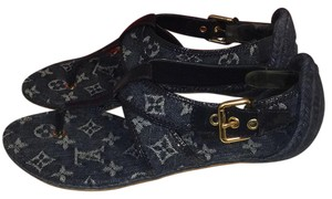 Louis Vuitton Blue Sandals