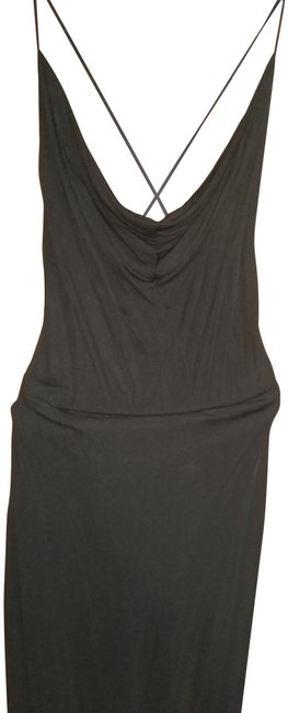 Item - Black Designer Sample Long Night Out Dress Size 2 (XS)