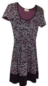 Kate Spade Leopard Print Knit Nonwrinkle Dress