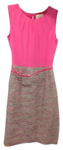Kate Spade Belted Silk Tweed Dress