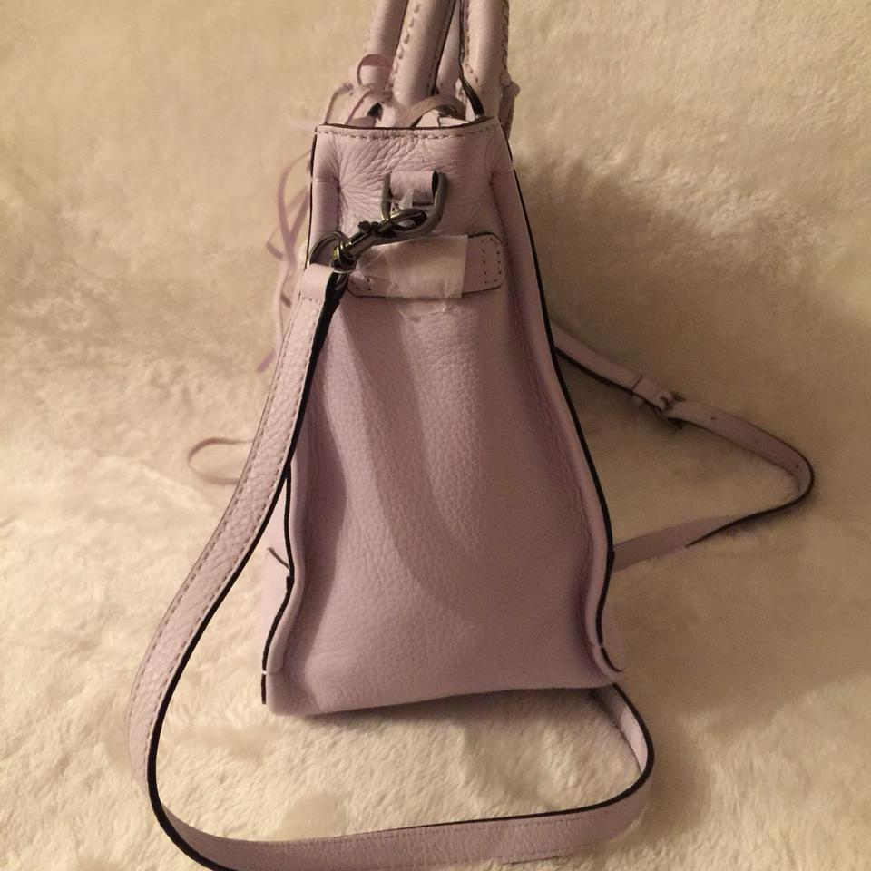 Minkoff Rebecca Satchel Lilac Pale Regan Leather FwxZdwPqv