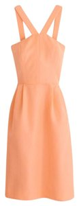 J.Crew Bridesmaid Cocktail Peach Dress