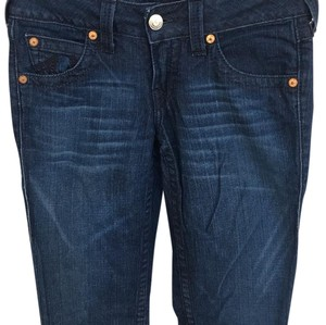 True Religion Straight Pants Blue