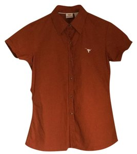 University of Texas Button Down Shirt Burnt orange