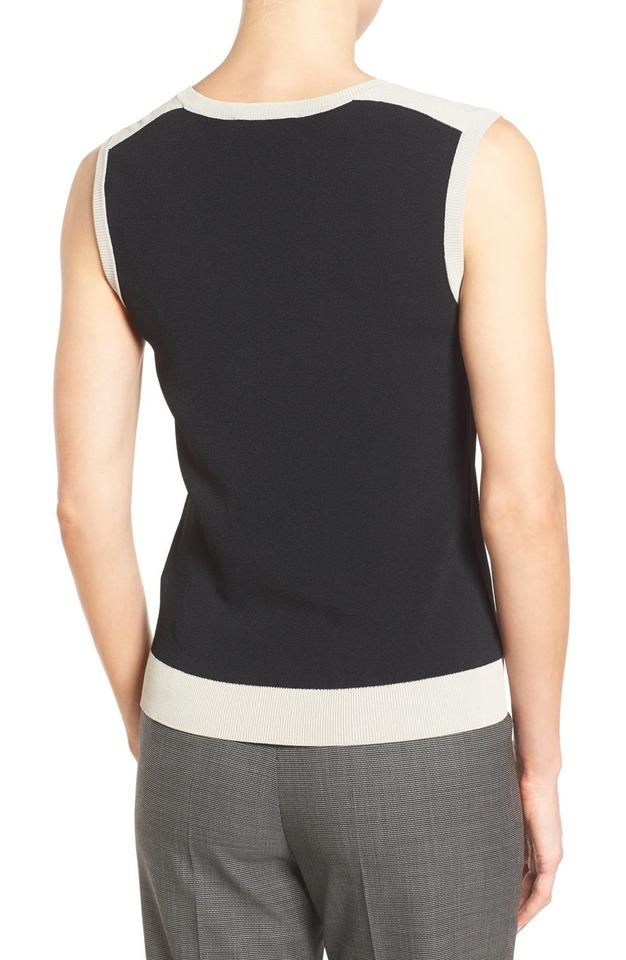 hugo boss black nude fanotta colorblock sleeveless bnwt sweater pullover size 4 s tradesy. Black Bedroom Furniture Sets. Home Design Ideas