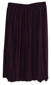 Xhilaration Skirt Burgundy