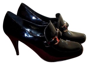 Ann Marino Patent Leather Black Formal