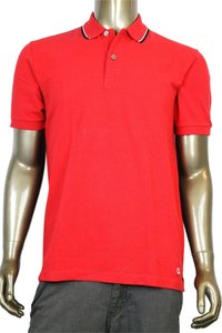 Gucci Men's Jersey Polo Golf T Shirt Red