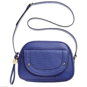 Juicy Couture Iris Lizard Leather Cross Body Bag