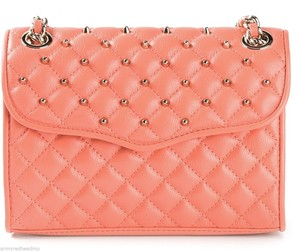 Rebecca Minkoff Affair Studded Quilted Leather Cross Body Bag