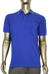 Gucci Men's Jersey Polo Golf T Shirt Blue