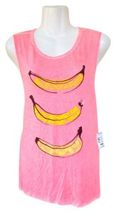 Aropostale Muscle Banana Soft Top pink, yellow