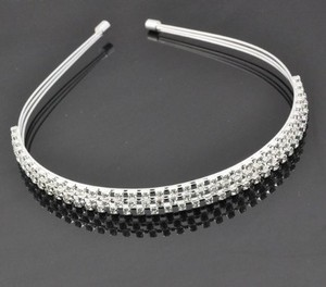 Leona Rhinestone Galore Wedding Bridal Special Occassion Headband Tiara