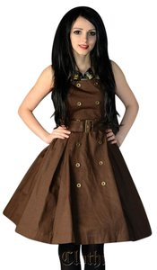 Dracula Clothing short dress Brown on Tradesy