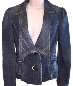 Hudson Jeans Fitted Womens Jean Jacket