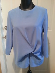 COS Tunic Top Periwinkle Blue