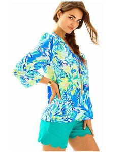 Lilly Pulitzer Top Wave and Sea