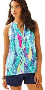Lilly Pulitzer Light As Feather Halter Top