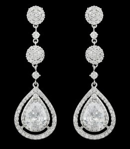 Aaa-quality Cubic Zirconia Earrings