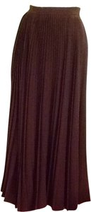 couture Anne Klein Skirt Dark Olive Green