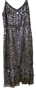 Niteline Cocktail Silver Sparkles Strappy Party Sparkles Cocktail Dress
