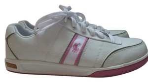 Polo Ralph Lauren White with pink accents Athletic