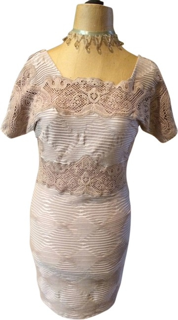 Free People short dress Light Brown on Tradesy