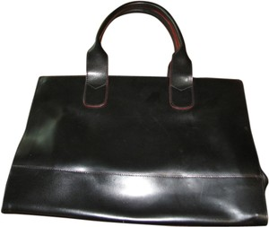 ellecieffe Satchel in Black with red trim