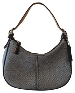 Coach Checkered Leather New Without Tags Hobo Bag