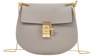 Chloé Chloe Drew Chain Gold Shoulder Bag