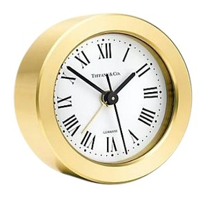 Tiffany & Co. Round Alarm Clock