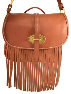 Dooney & Bourke Fiona Lulu Fringe Leather Cross Body Bag