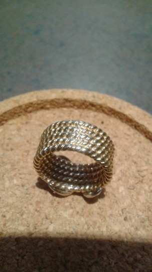 """KC designs Gold and diamond """"x"""" ring - Price reduced!!!"""