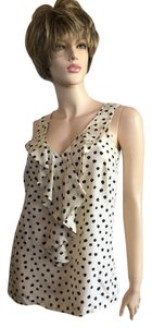 Michael Kors Top Cream polka dot