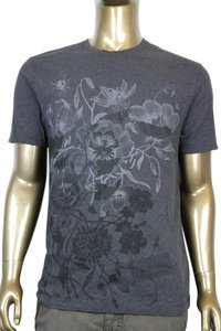 Gucci Men's Cotton T Shirt Gray