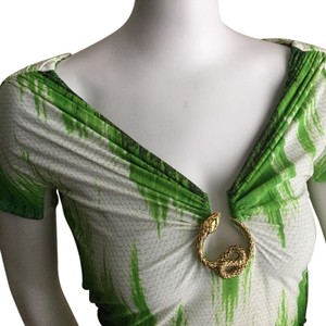 Roberto Cavalli Top Green shades