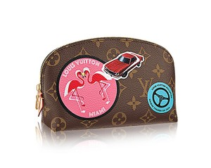 Louis Vuitton Louis Vuitton Monogram World Tour Cosmetic Pouch Limited Edition