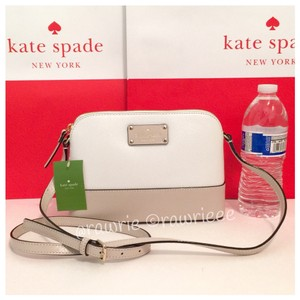 Kate Spade Zip Top Structured Two-tone Shoulder Bag