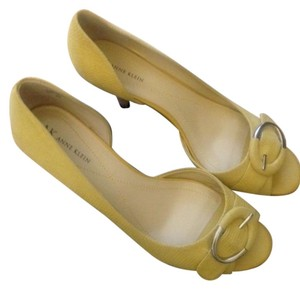 Anne Klein Yellow Pumps