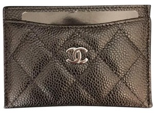 c5bfd253e124 Added to Shopping Bag. Chanel CHANEL BLACK CLASSIC QUILTED CAVIAR CARD  HOLDER CASE ID SHW BNIB