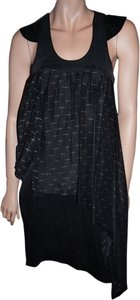 Karl Lagerfeld short dress grey Silk Unique on Tradesy
