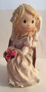Ceramic Bride Centerpiece Decor Other